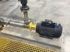 Energy Recovery rotary pump. Low-Flow Horizontal Pump