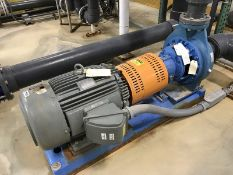 785 gpm @ 127 tdh, 4 x 6-13 Goulds Lined centrifugal pump