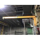 1000 lbs. wall mounted jib crane