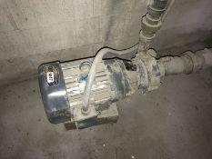 5 HP. 2.5 x 1.5 x 6 carbon steel centrifugal pump