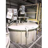 1500 Gallon Stainless Mix Tank