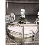 1200 Gallon Stainless Mix Tank