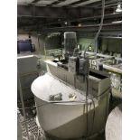 2500 Gallon Stainless Mix Tank