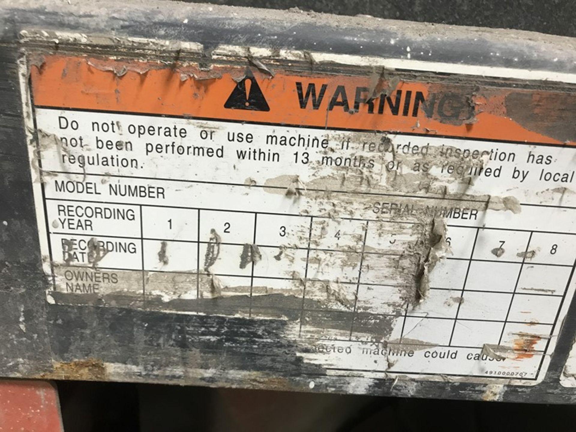 Toyota Aichi Scissor Lift - Image 10 of 12
