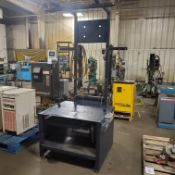 """Workstation w/36"""" Deep x 40"""" Wide Manual Lift Table, Control Panel, Loading Fee $10"""