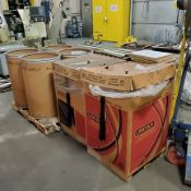 Approx. 700 lb. Lincoln .035 SureArc and SuperArc Welding Wire, Loading Fee $25