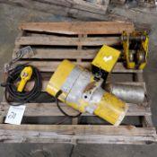 Budget 1/2 Ton Electric Chain Hoist, w/ Trolley, Loading Fee $10