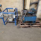 Hydraulic Unit & 230 Volt 3 Phase to 110v 1 Phase Transformer, Loading Fee $10