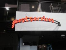 Guest Servises Wall Mount illuminated Sign