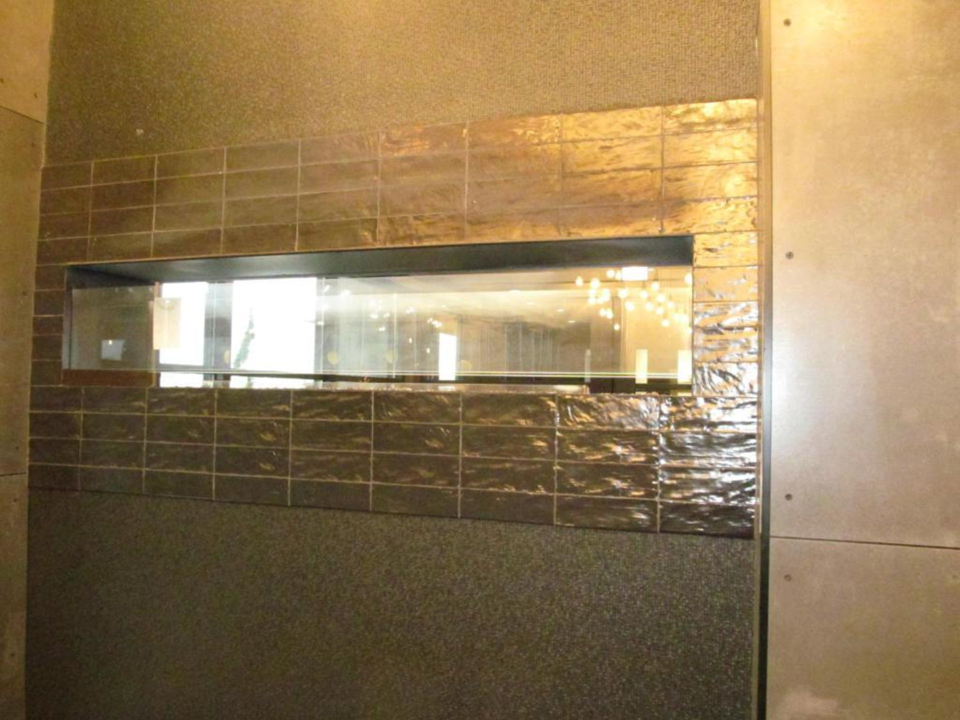 """60"""" x 12"""" x 13"""" High Double Sided Gas Fire Place - Image 2 of 2"""