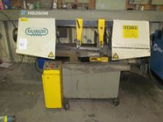 "Clausing Kalamazoo HB280DM 12"" x 16"" Horizontal Band Saw, S/N 80015 (Building A)"