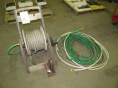 Hose Reel w/ Assorted Hose (Building C)