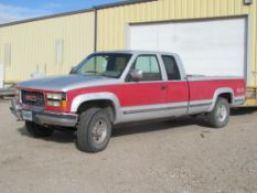 GMC Sierra 2500 SLE 4x4 Pick Up Truck, VIN: 1GTGK29N3RE554877 (New 1994), with Extended Cab, Automat