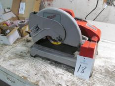 "Milwaukee 6180-20 14"" Abrasive Wheel Cut-Off Saw, Does Not Run (Building A)"