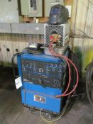 Miller Syncrowave 250DX 250-Amp TIG Welder, S/N LC497672, with Bernard Chiller, Leads, Torch (Buildi