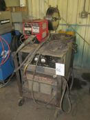 Lincoln R3S-400 400-Amp Welder, S/N NA, with LN-8 Wire Feeder (Building A)