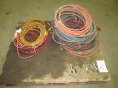 Assorted Air Hose & Extension Cords (Building C)