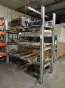 """Heavy Duty 4-Tier Steel Shelving Unit; 96"""" x 35"""" x 96"""", Welded (No Contents)"""