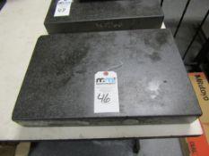 """Granite Surface Plate; 18""""L x 12""""W0 x 3""""T"""
