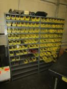 """Adjustable Steel Shelving Units; 13-Tier, 75W"""" x 18""""D x 36""""H, with Contents of Assorted Metric & SAE"""