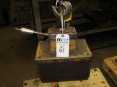 Lifting Magnet; (Mounted to Lot 20 Bridge Crane)