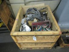 Crate of Inspection Equipment; to Include Plug Gages, Thread Gages, Indicator Stands, Snap Check Gag