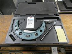 """Mitutoyo 7-8"""" Outside Micrometer"""