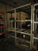 """Heavy Duty 4-Tier Steel Shelving Unit; 95.5""""W x 30""""D x 100""""H, Welded (No Contents)"""