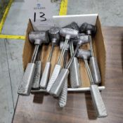 (10) Assorted Lead Hammers