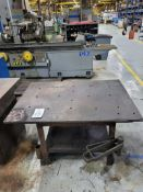 """Steel Weld Table 53"""" x 37"""" x 1"""" Thick"""