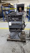Lincoln Ideal Arc Tig 300/300 300-Amp TIG Welder, S/N AC-588300, with Dyna Flux Cooler