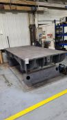 """Steel Layout Table 10' x 5' x 1-1/2"""""""