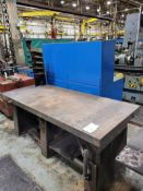 """Steel Weld Table 84"""" x 36"""" x 4"""" Thick"""