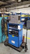 Miller Syncrowave 351 350-Amp Mobile Welder, S/N KF874368, with Tweco TC900 Cooler (Tank not