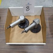 """(2) Pneumatic 4"""" Angle Grinders"""