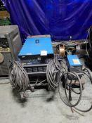 Miller Deltaweld 652 652-Amp Mobile Welder, S/N KJ188390, with 60 Series Wire Feeder