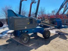 Genie S-40 Rough Terrain Boom Lift (S/N S4006-10848, Year 2006), with 40' Platform Height, 50 Lb.