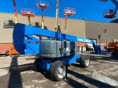 Genie Z80/60 Rough Terrain Articulating Boom Lift (S/N Z8008-2303, Year 2008), with 80' Max