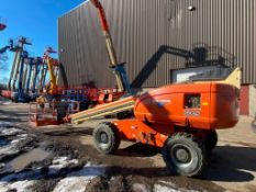 JLG 600S Rough Terrain Boom Lift (S/N 300072396, Year 2003), with 60' Platform Height, 49.47'