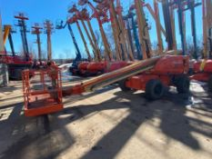 JLG 600S Rough Terrain Boom Lift (S/N 300061970, Year 2001), with 60' Platform Height, 49.47'