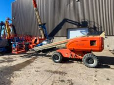 JLG 600S Rough Terrain Boom Lift (S/N 300072393, Year 2003), with 60' Platform Height, 49.47'