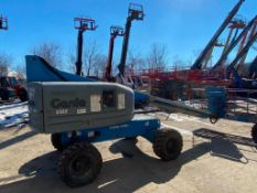 Genie S-40 Rough Terrain Boom Lift (S/N S4006-11060, Year 2006), with 40' Platform Height, 500 Lb.