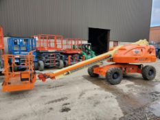 JLG 400S Rough Terrain Articulating Boom Lift (S/N 300127537, Year 2008), with 40' Platform
