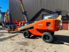 JLG 600S Rough Terrain Boom Lift (S/N 300071687, Year 2003), with 60' Platform Height, 49.47'