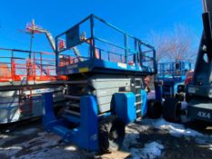 Genie GS5390RT Rough Terrain Scissor Lift (S/N GS90-41019, Year 2002), with 59' Working Height,