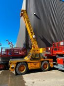 Broderson IC-200-3F Rough Terrain Carry Deck Crane (S/N 182274, Year 2008), with 15-Ton Capacity,