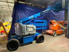 Genie Z45/25J Articulating Boom Lift (S/N 15918, Year 2000), with 45' Platform Height, 25'