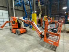 """JLG E300AJP Articulating Boom Lift (S/N 300124789, Year 2008), with 29'5"""" Platform Height, 30"""" x 48"""""""