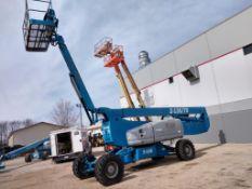 """Genie Z135/70 Boom Lift (S/N Z135091081, Year 2009), with 135' Platform Height, 69'9"""" Horizontal"""