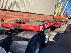 Talbert 4053TA 40-Ton Sliding Axle Trailer, VIN 40FG05326F1034355, 2015